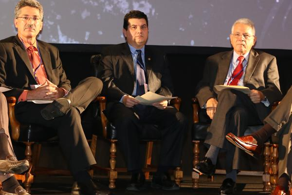 High level panel at International Forum on Microcredit