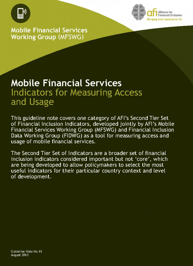 guideline for mobile financial services Bank-led model isn't always the answer for mobile financial services (mfs) in bangladesh published on may 27, 2016 md sydul.