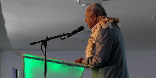 Prime Minister of Fiji Voreqe Bainimarama Opening Remarks at 2016 Global Policy Forum
